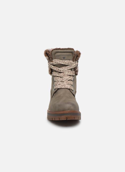 Bottines et boots Tom Tailor Nika Gris vue portées chaussures