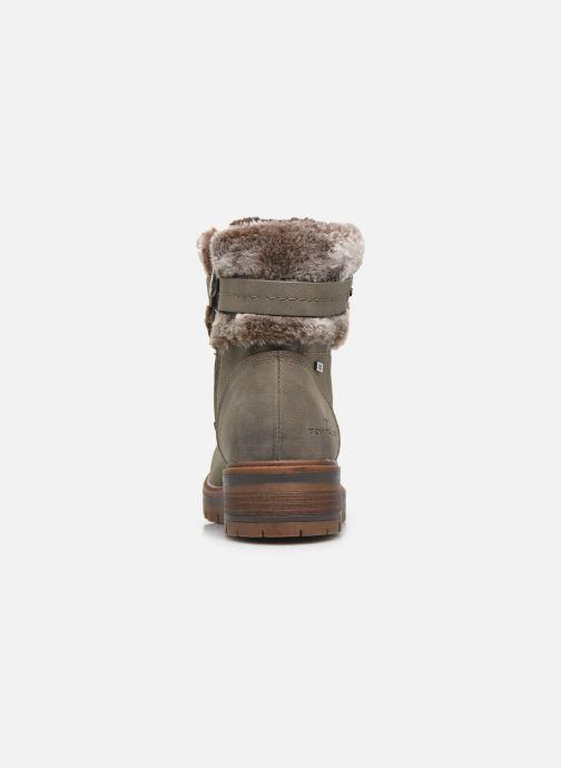 Bottines et boots Tom Tailor Nika Gris vue droite