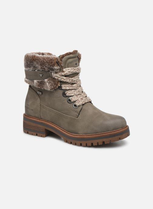Bottines et boots Tom Tailor Nika Gris vue détail/paire