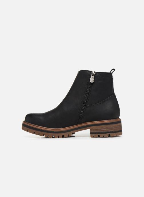 Boots en enkellaarsjes Tom Tailor Louisa Zwart voorkant