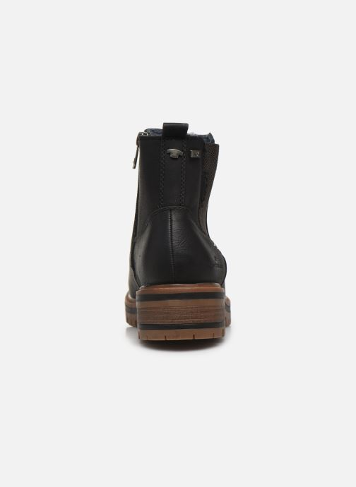 Ankle boots Tom Tailor Louisa Black view from the right