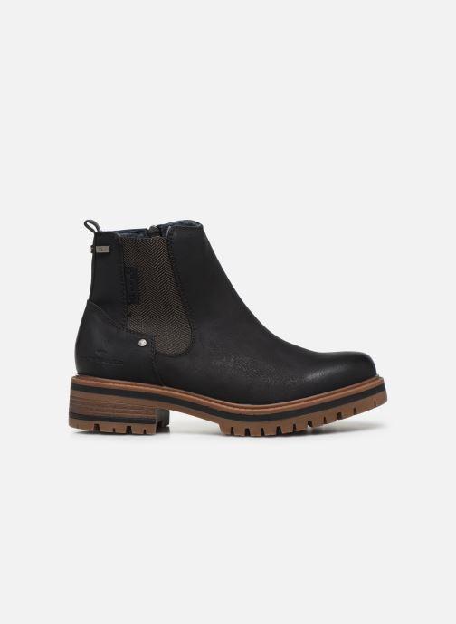 Boots en enkellaarsjes Tom Tailor Louisa Zwart achterkant
