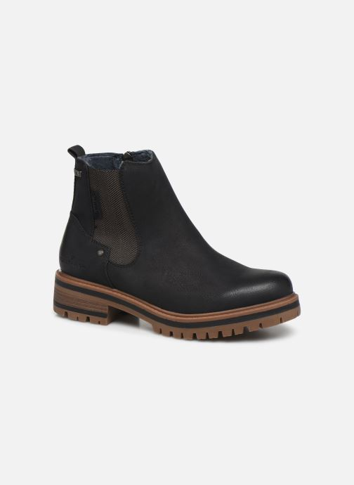 Ankle boots Tom Tailor Louisa Black detailed view/ Pair view