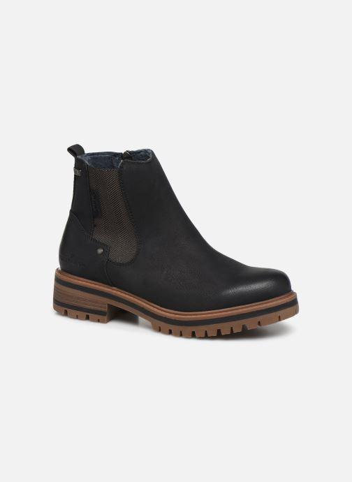 Boots en enkellaarsjes Tom Tailor Louisa Zwart detail