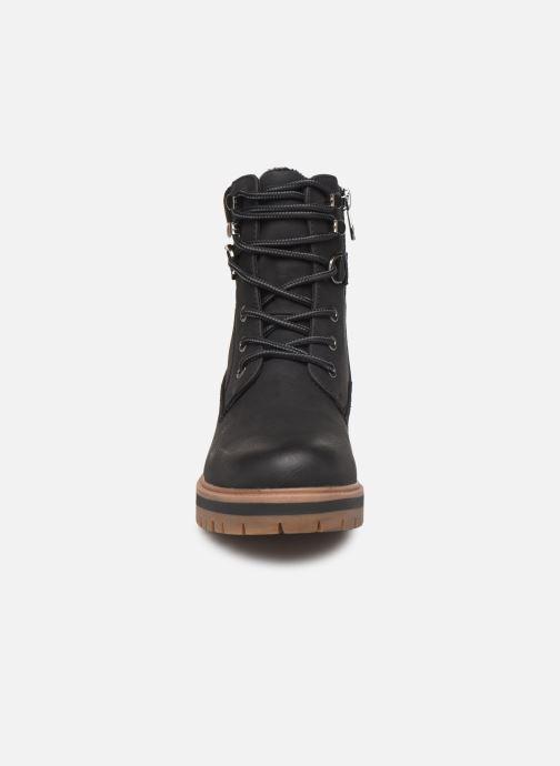 Bottines et boots Tom Tailor Lilie Noir vue portées chaussures