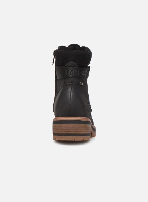 Bottines et boots Tom Tailor Lilie Noir vue droite