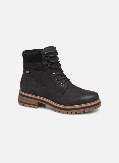 Bottines et boots Tom Tailor Lilie Noir vue détail/paire