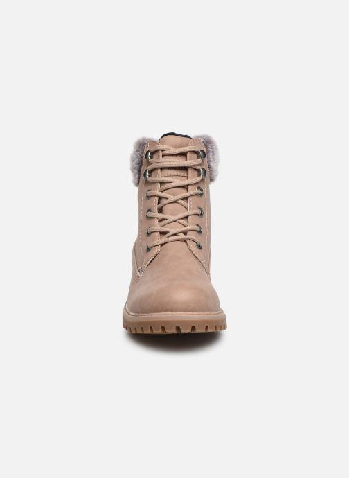 Bottines et boots Tom Tailor Mona Beige vue portées chaussures