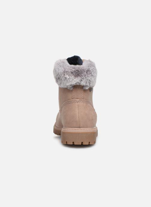 Bottines et boots Tom Tailor Mona Beige vue droite