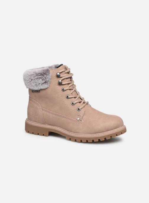 Bottines et boots Tom Tailor Mona Beige vue détail/paire