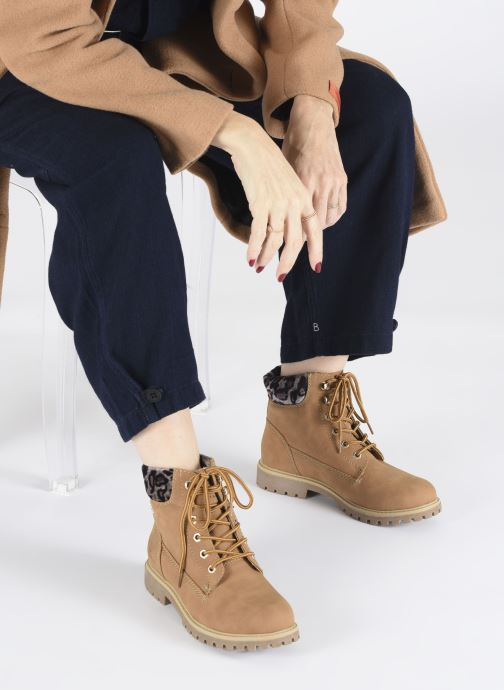 Ankle boots Tom Tailor Kiara Brown view from underneath / model view