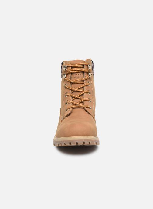 Bottines et boots Tom Tailor Kiara Marron vue portées chaussures