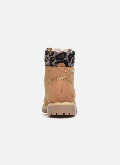 Bottines et boots Tom Tailor Kiara Marron vue droite