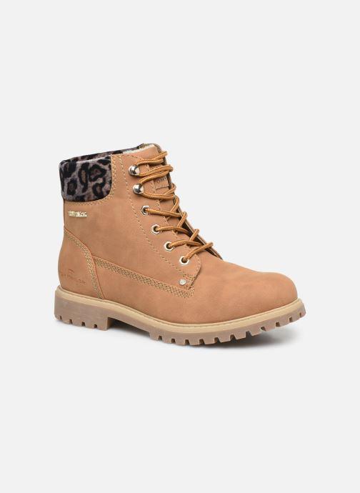 Bottines et boots Tom Tailor Kiara Marron vue détail/paire