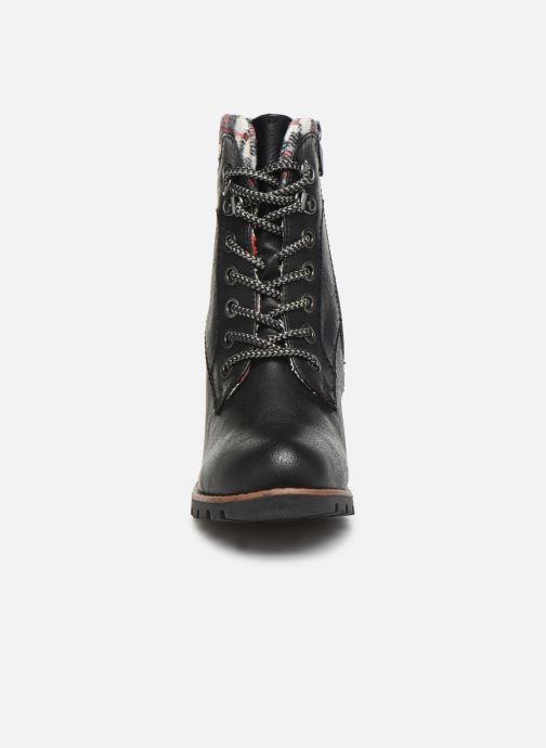 Bottines et boots Tom Tailor Monic Noir vue portées chaussures
