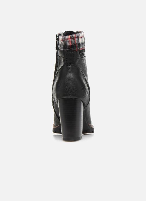 Bottines et boots Tom Tailor Monic Noir vue droite