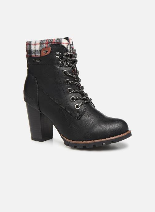 Bottines et boots Tom Tailor Monic Noir vue détail/paire