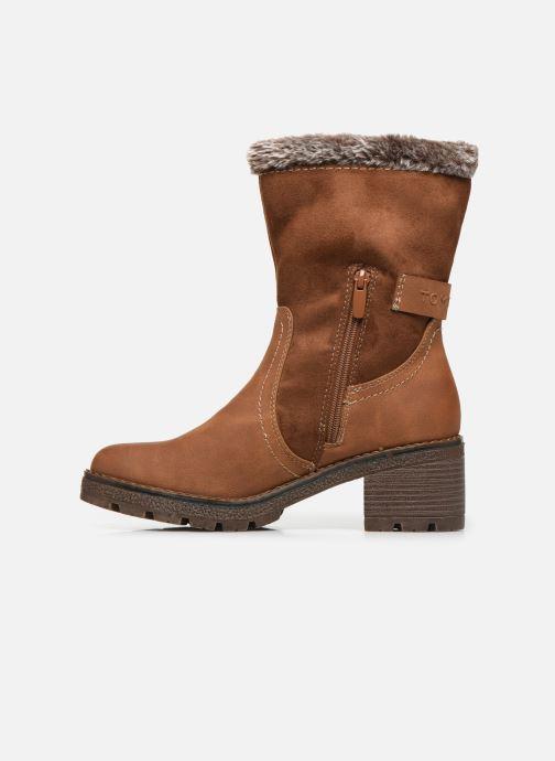 Bottines et boots Tom Tailor Juliette Marron vue face