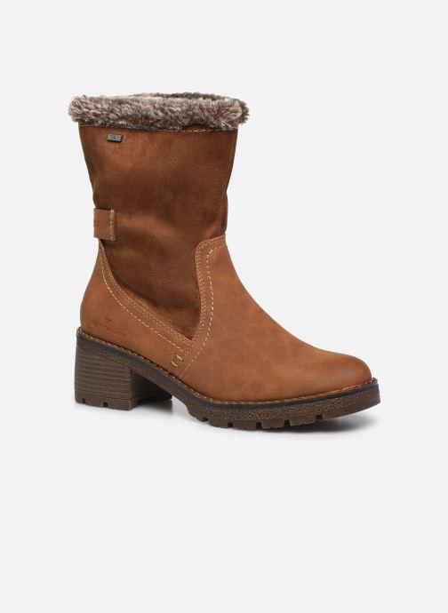 Bottines et boots Tom Tailor Juliette Marron vue détail/paire