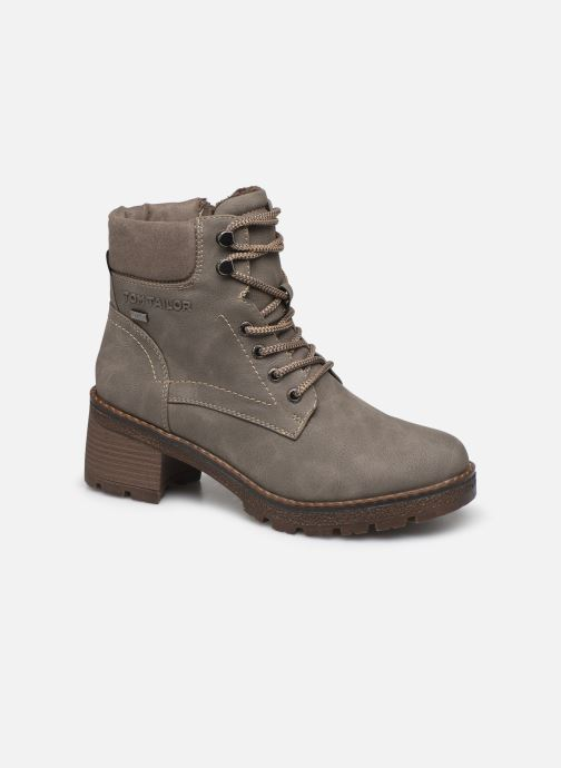 Ankle boots Tom Tailor Maud Grey detailed view/ Pair view