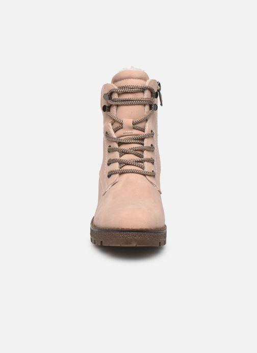 Bottines et boots Tom Tailor Maud Beige vue portées chaussures