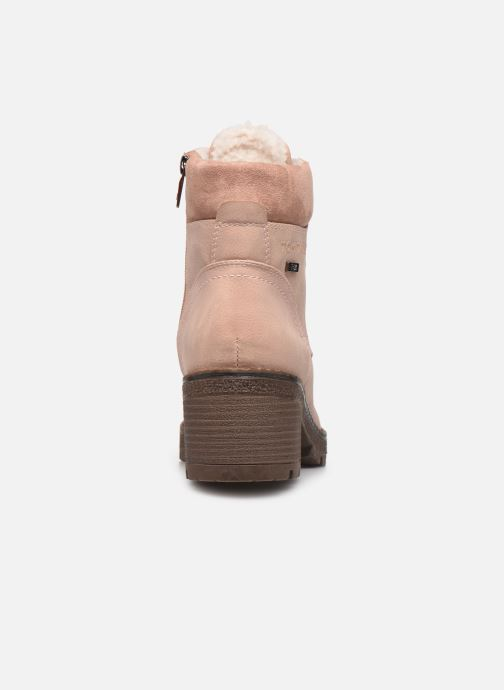 Ankle boots Tom Tailor Maud Beige view from the right
