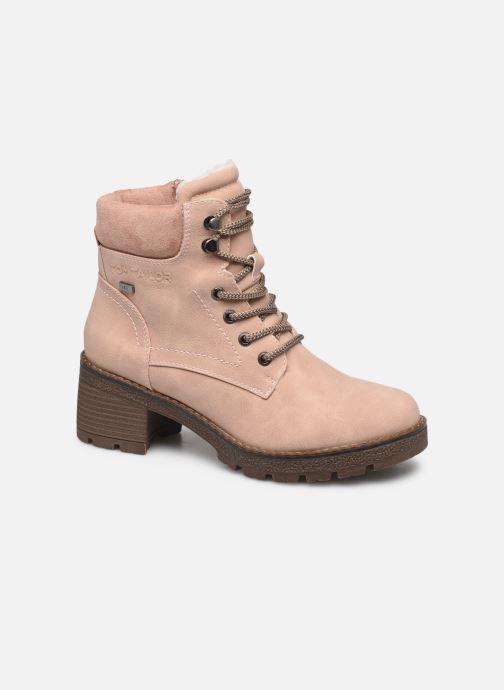 Bottines et boots Tom Tailor Maud Beige vue détail/paire