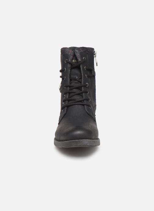 Boots en enkellaarsjes Tom Tailor Nina Zwart model