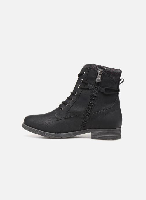 Stiefeletten & Boots Tom Tailor Nina schwarz ansicht von vorne