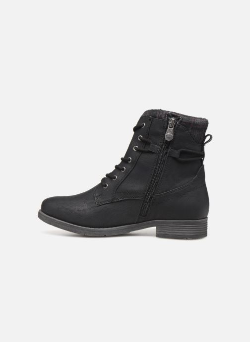 Ankle boots Tom Tailor Nina Black front view