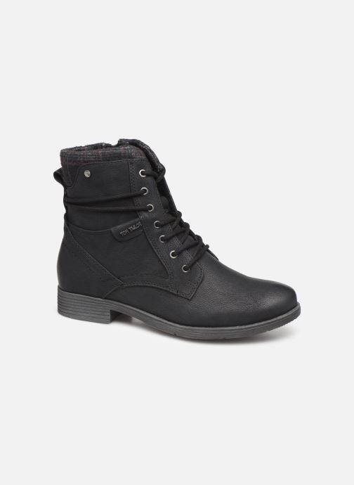 Ankle boots Tom Tailor Nina Black detailed view/ Pair view