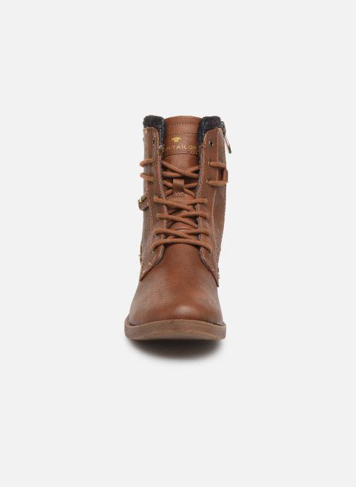 Bottines et boots Tom Tailor Nina Marron vue portées chaussures