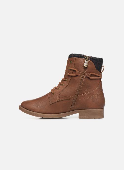 Stiefeletten & Boots Tom Tailor Nina braun ansicht von vorne