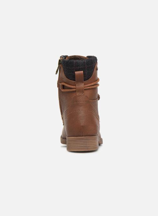Bottines et boots Tom Tailor Nina Marron vue droite
