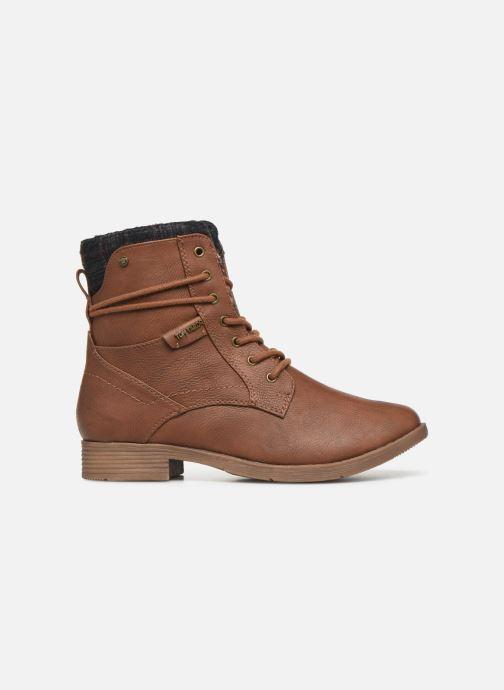 Stiefeletten & Boots Tom Tailor Nina braun ansicht von hinten