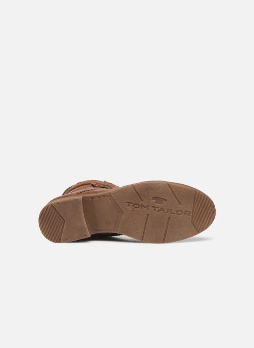 Stiefeletten & Boots Tom Tailor Nina braun ansicht von oben