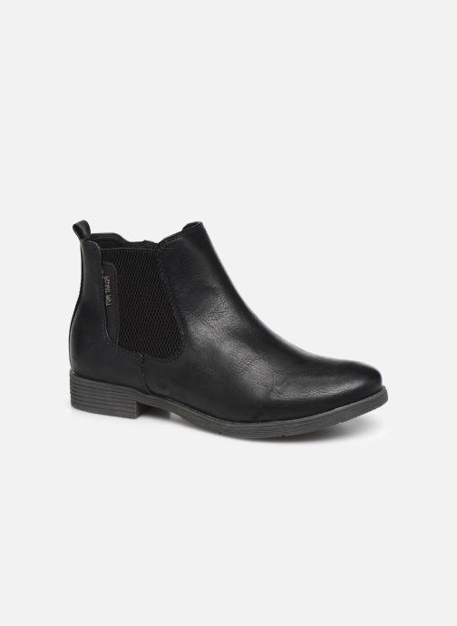 Bottines et boots Tom Tailor Kloe Noir vue détail/paire