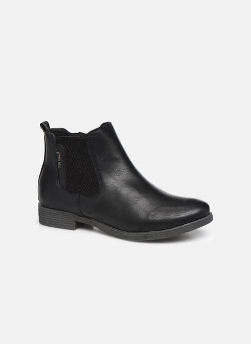 Ankle boots Tom Tailor Kloe Black detailed view/ Pair view
