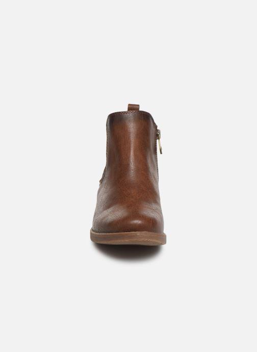 Bottines et boots Tom Tailor Kloe Marron vue portées chaussures
