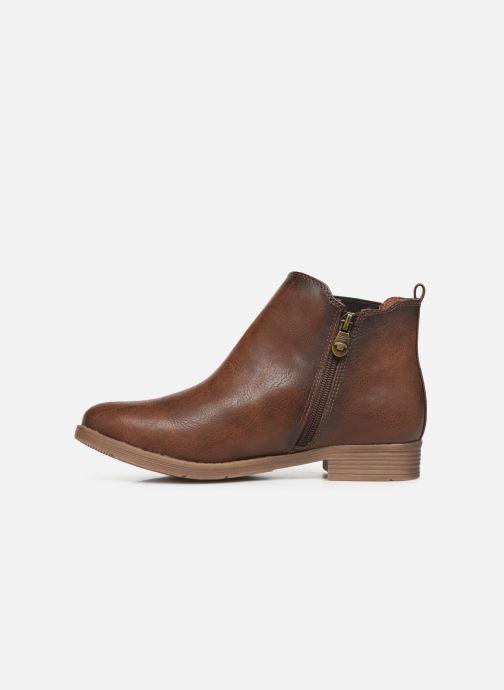Stiefeletten & Boots Tom Tailor Kloe braun ansicht von vorne