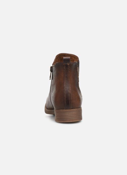 Stiefeletten & Boots Tom Tailor Kloe braun ansicht von rechts