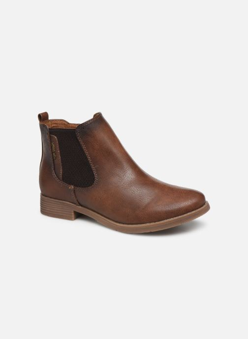 Bottines et boots Tom Tailor Kloe Marron vue détail/paire
