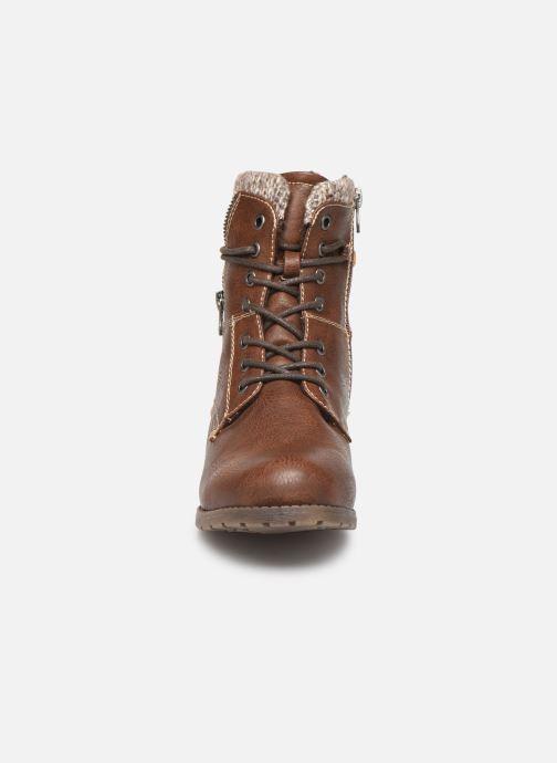 Bottines et boots Tom Tailor Ena Marron vue portées chaussures