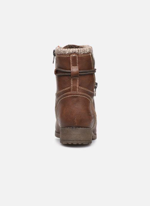 Bottines et boots Tom Tailor Ena Marron vue droite