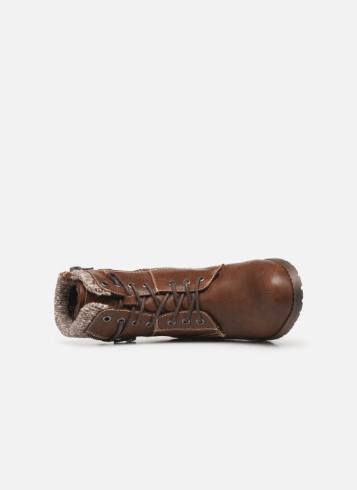 Boots en enkellaarsjes Tom Tailor Ena Bruin links