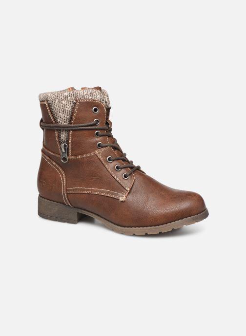 Bottines et boots Tom Tailor Ena Marron vue détail/paire