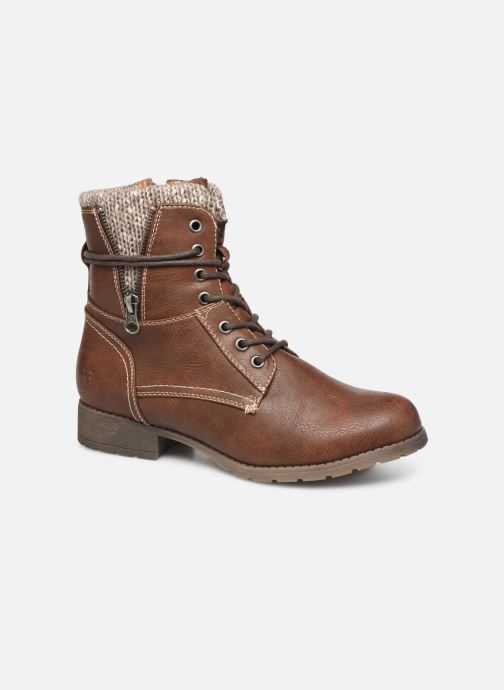Ankle boots Tom Tailor Ena Brown detailed view/ Pair view