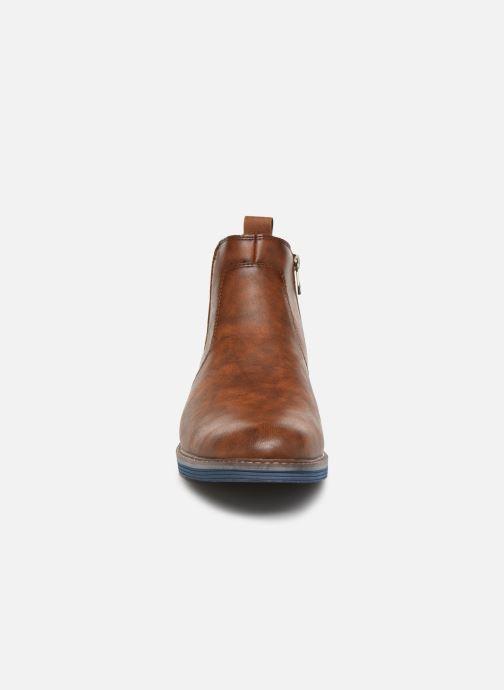Stiefeletten & Boots Tom Tailor Tili braun schuhe getragen