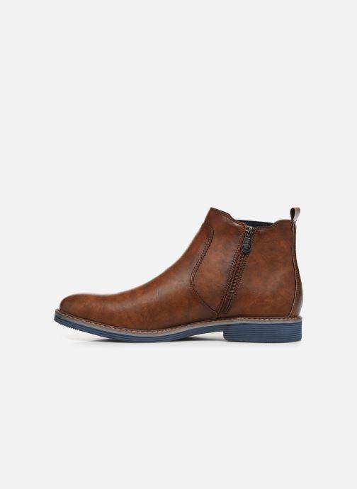 Stiefeletten & Boots Tom Tailor Tili braun ansicht von vorne