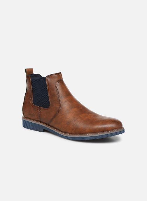 Bottines et boots Tom Tailor Tili Marron vue détail/paire